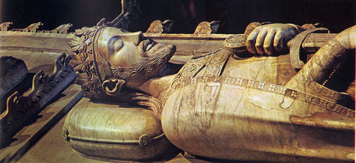 Poblet, tomba de Jaume I