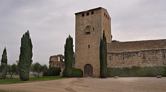 Milmanda davant del castell